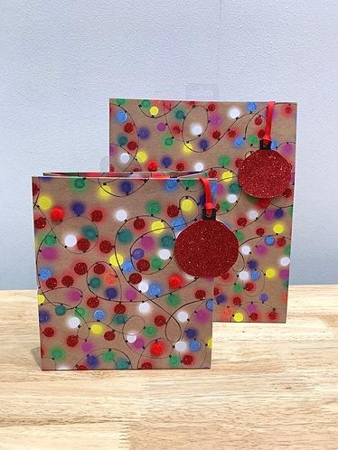 Glick - Christmas Lights Gift Bag