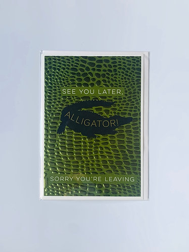 Think Of Me - See You Later, Alligator!