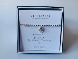 Life Charms - Delightful Daughter bracelet