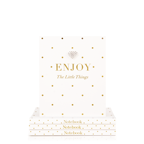 Mad Dots - Enjoy the Little Things Notebook