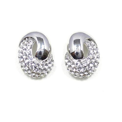 VIP - Crystal Knot Stud Earrings