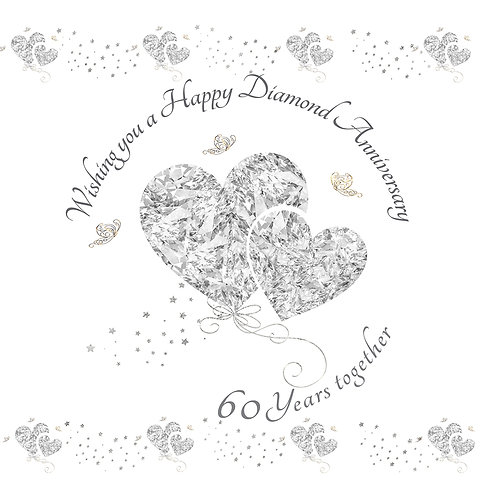 Rush Design - Happy Diamond Anniversary