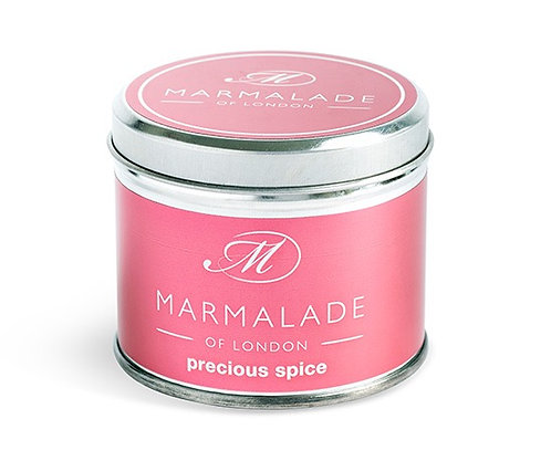 Marmalade - Precious Spice Medium Tin Candle