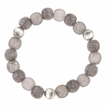 Carrie Elpseth Grey Mottles Bracelet