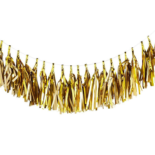 Gold Tassle Garland