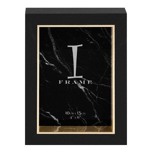 Black & Gold Frame - 4x6
