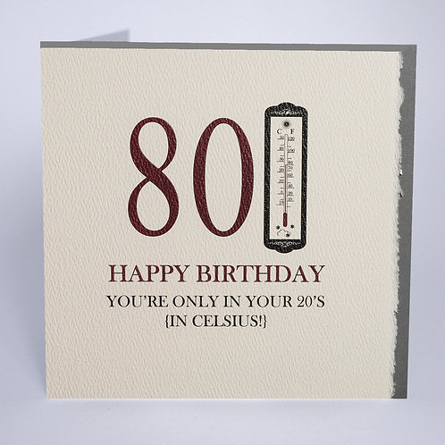 Five Dollar Shake 80 - '20s in Celsius' Card