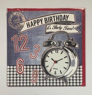 Happy Birthday It's Party Time!