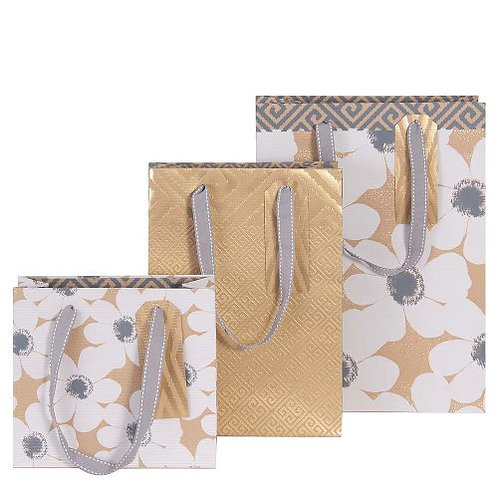 Artebene - Assorted Kraft Flower Gift Bags