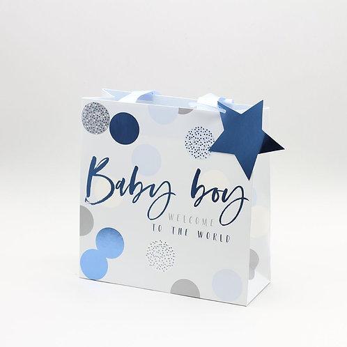 Belly Button - Medium Baby Boy Gift Bag