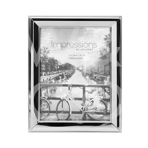 Impressions Nickel Plated Frame - 6x8