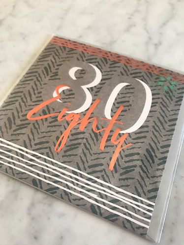 The Handcrafted Card Company - Eighty
