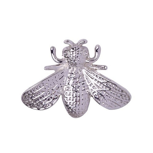 D&X - Silver Magnetic Bee Brooch