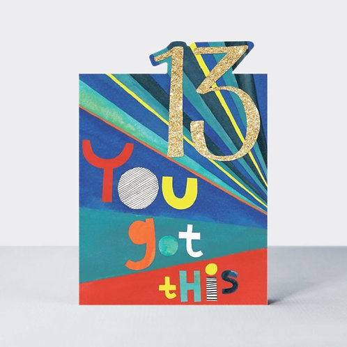 13 You Got This Card