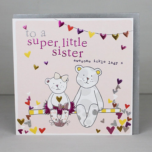Molly Mae  Super Litte Sister Card