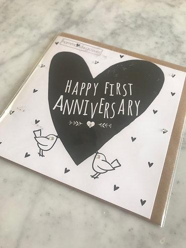 Hammond Gower - 1st Wedding Anniversary