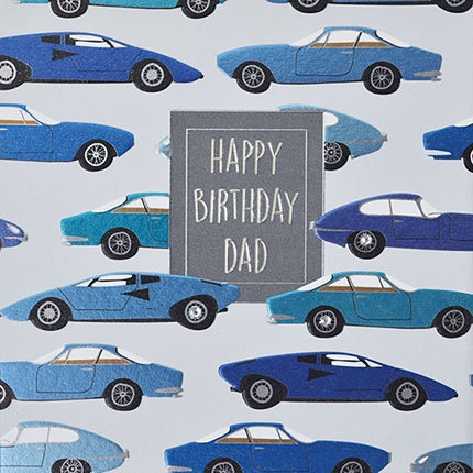 Wendy Jones-Blackett - Dad Birthday (Cars)