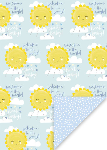 Glick - Welcome To The World Wrapping Paper