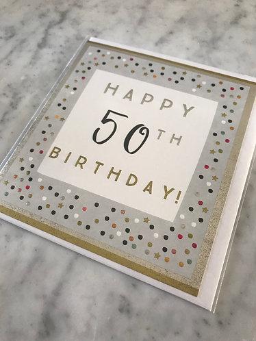 Think of Me - Happy 50th Birthday