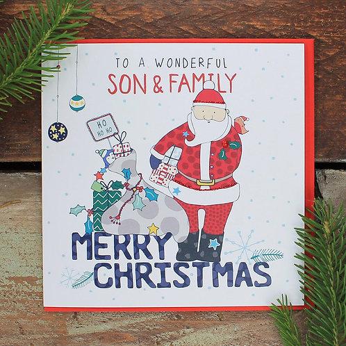 Molly Mae Xmas - Son & Family