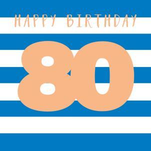 Belly Button - Blue Stripe 80