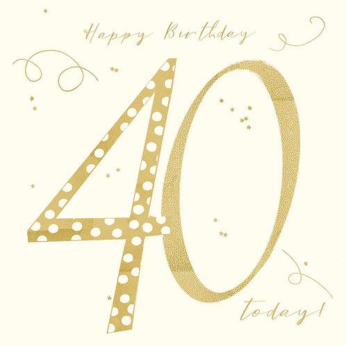 Hammond Gower - Happy Birthday 40