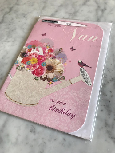 For you Nan Birthday Card