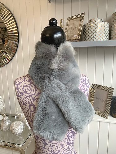 Franchetti Bond - Faux Fur Scarves