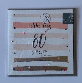 Molly Mae -  80 Years Fabulous