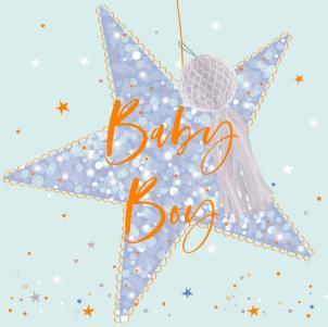 Belly Button Baby Boy Card
