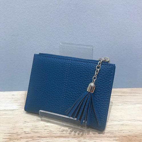 POM Small Blue Wallet Purse