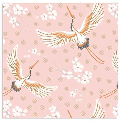 ARTEBENE Pink Bird Napkins