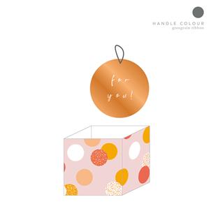 Belly Button - Polka Dot Mug Gift Bag
