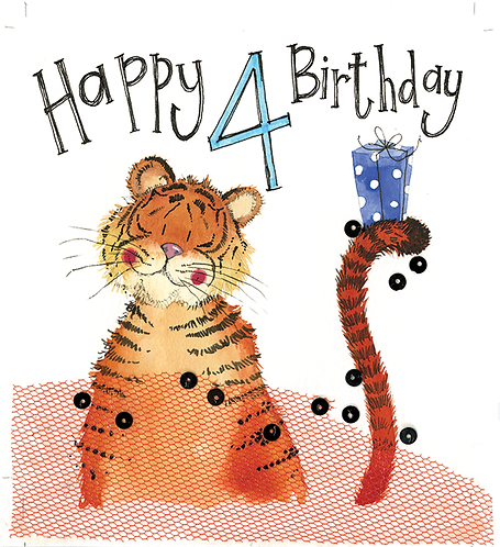 Alex Clark - Tiger 4th Birthday