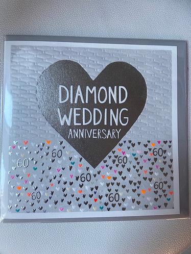 Paper Salad - Diamond Wedding Anniversary