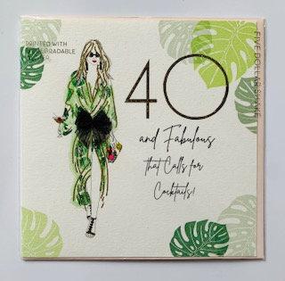 Five Dollar Shake - 40 and fabulous