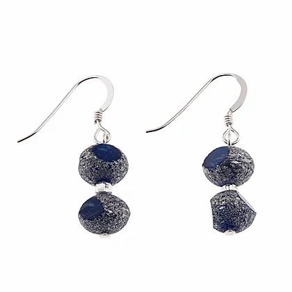Carrie Elpseth Blue Meteor Earrings