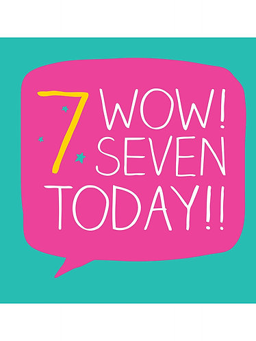 Pigment - Wow! Seven Today!!