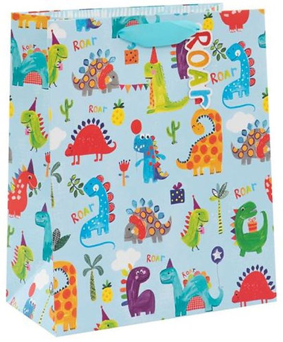 Glick - Large Dinosaurs Gift Bag