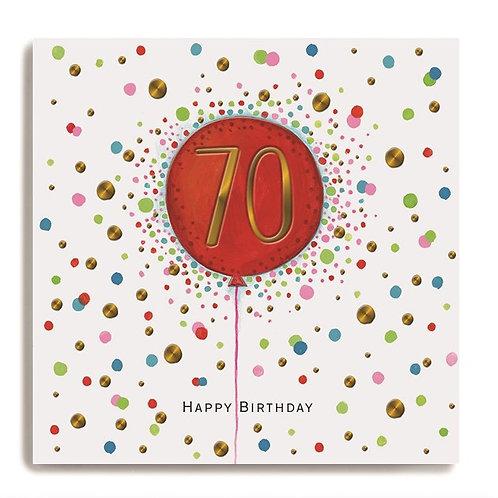 Janie Wilson - Age 70 Balloon