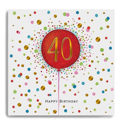 Janie Wilson - Age 40 Balloon