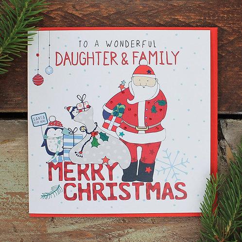 Molly Mae Xmas - Daughter & Family
