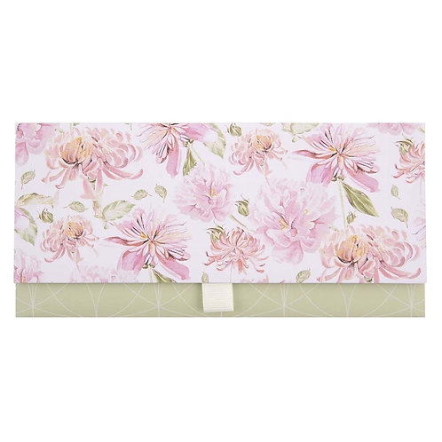ARTEBENE Pink Floral Money Wallet