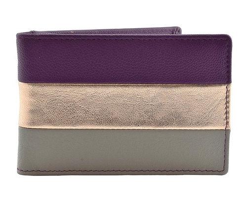 Burchell Purple Metallic ID/Card Holder (RFID)
