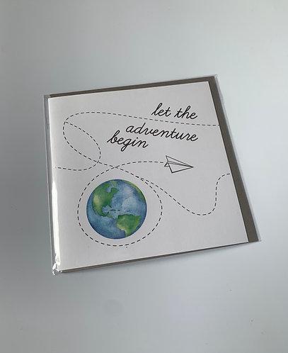 Little Robin Paper & Co - Let The Adventure Begin