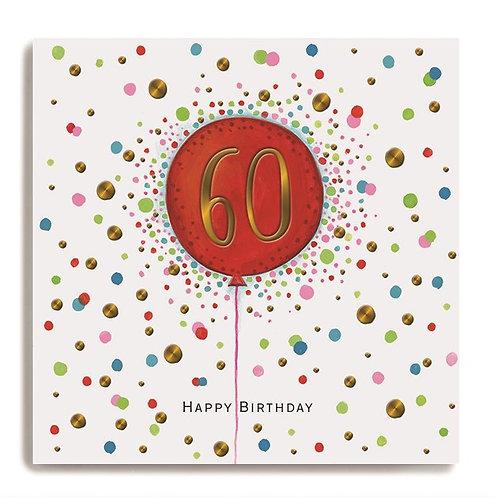 Janie Wilson - Age 60 Balloon