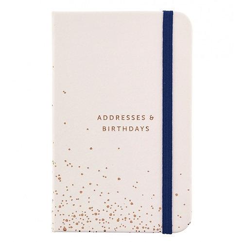 Busy B - Address & Birthday Book