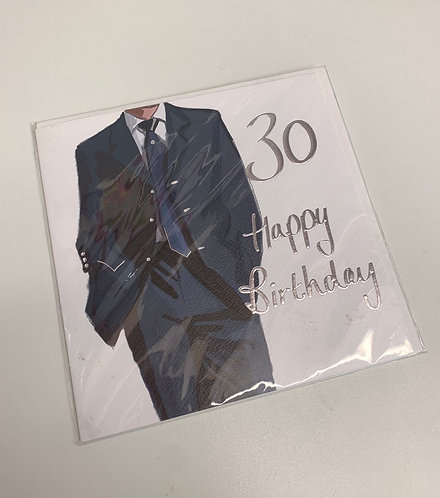A Made Hand - Age 30 (Large Card)