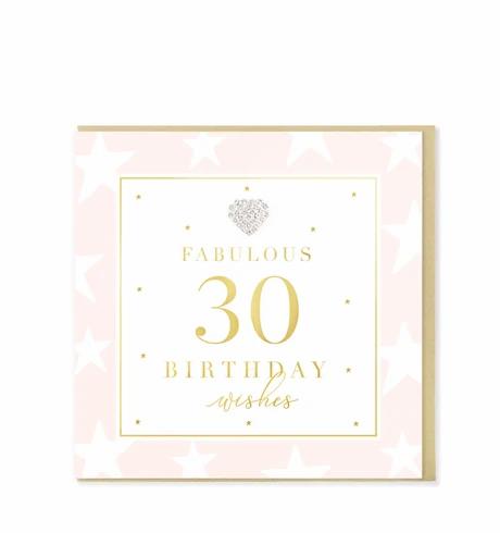 Hearts Designs - Fabulous 30