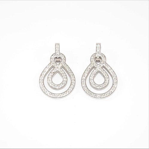 VIP - Double Infinity Drop Earrings
